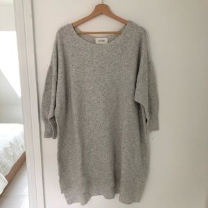 American Vintage slouchy tunic wool sweater